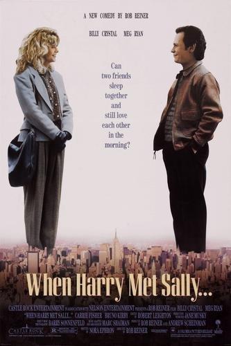 When Harry Met Sally Movie Poster 24x36 When Harry Met Sally Poster
