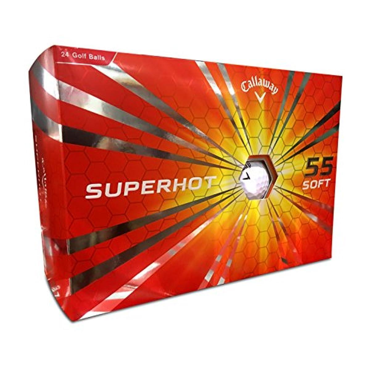 [해외] CALLAWAY 캘러웨이 SUPERHOT55 소프트볼 3박스 세트(24개)