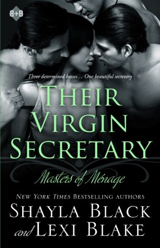 Their Virgin Secretary  (Masters of Menage) (Volume 6) by Black Oak Books, LLC