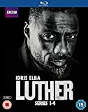Luther - Series 1-4 [Blu-ray] [2015]