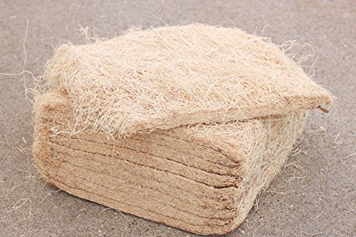 Nesting Material Box - Brillante Nesting Pads for Chicken Nest Boxes by 10 Pack of Natural Aspen Excelsior Liners for Poultry, Birds and Pets
