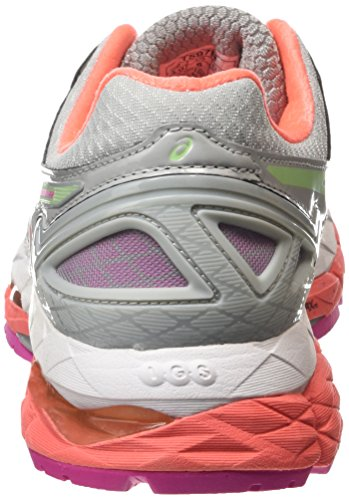 Gris Asics Gel Chaussures de Fiery 22 1087 Entrainement Kayano Running Femme Pistachio Silver Co Grey p4rp8