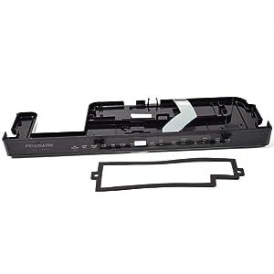 Frigidaire 807545703 Dishwasher Control Panel Genuine Original Equipment Manufacturer (OEM) Part Black