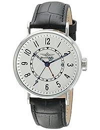 Breytenbach Men's BB6620W-SS Dual Time Watch