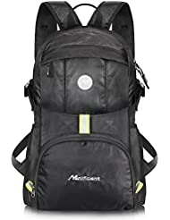 Manificent Lightweight Packable Travel Hiking Backpack, Durable Daypack, Water Resistance Foldable Camping Outdoor Sport Backpack