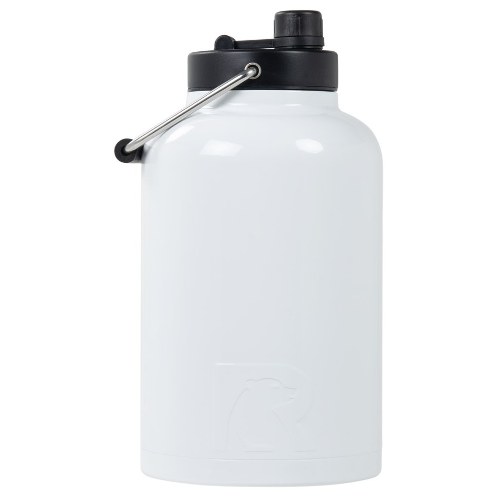 0bcd4d63da1 Amazon.com: RTIC One Gallon Vacuum Insulated Jug, White: Kitchen & Dining