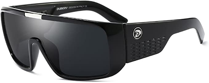 DUBERY Men Sport Polarized Sunglasses Outdoor Driving Fishing Fashion Glasses