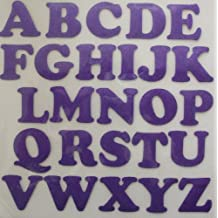 22mm Fabric Satin Alphabet Letter A-Z Iron-On Fabric Transfer