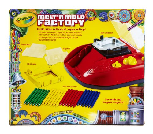 Crayola Melt 'N Mold Factory, (74-7060) - coolthings.us