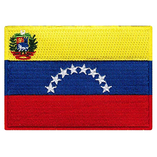 Venezuela Flag Embroidered Patch Venezuelan Iron-On National -