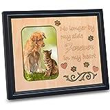 Pet Memorial Picture Frame 4x6 Photo Frames for Beloved Dog or Cat