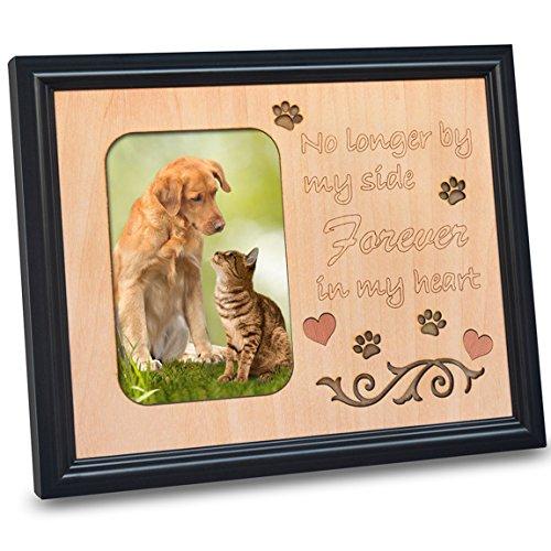 PETAFLOP Pet Memorial Picture Frame 4x6 Photo Frames for Bel