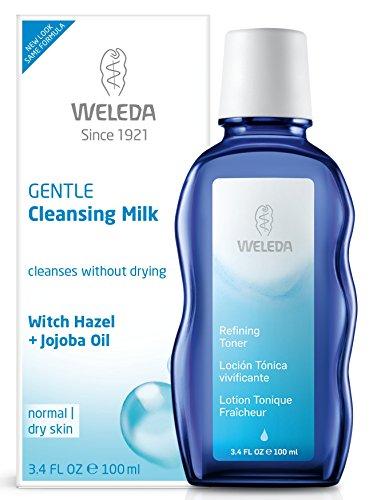 Cleansing Milk Facial Cleanser - Weleda Gentle Cleansing Milk, 3.4-Fluid Ounce