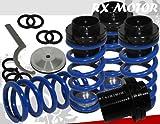 (US) 1993-1997 Volkswagen Golf Mk3 Scale Adjustable Coilover Springs Lowering Blue
