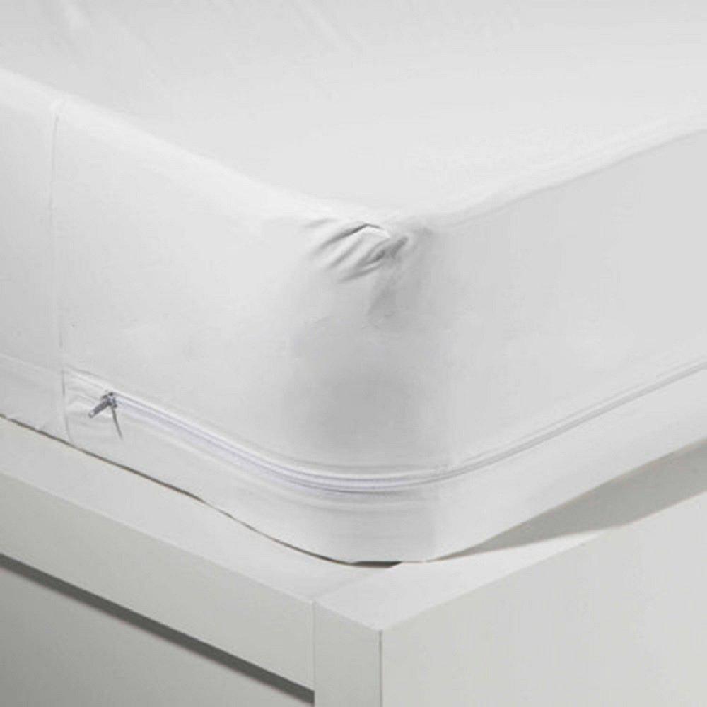 Elaine Karen QUEEN Vinyl Zippered Hypoallergenic, Waterproof, Durable, Certified Bed Bug Proof Mattress Encasement Protector Cover