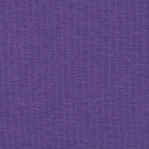 Robert Kaufman Kaufman Laguna Stretch Cotton Jersey Knit Amethyst Fabric by The Yard, Amethyst