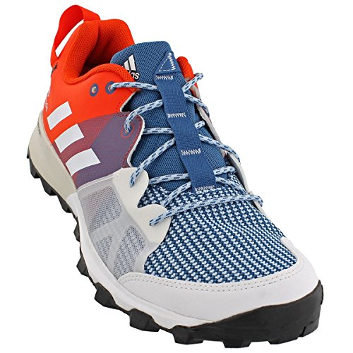 adidas Outdoor Men's Kanadia 8 TR Trail Running Shoe, Core Blue/White/Energy, 11 M US BB4414