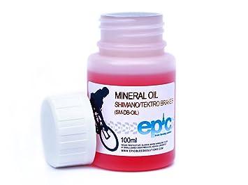 7dc41b98827 Aceite mineral de líquido de frenos para Shimano/frenos Tektro, 100 ml:  Amazon.es: Deportes y aire libre