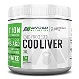 AMRAP Nutrition Fermented Norwegian Cod Liver Oil For Sale