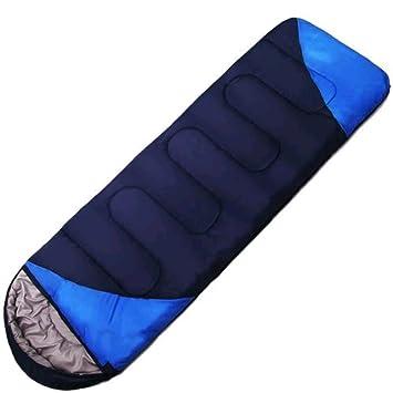 SHUIDAI Equipo de suministros para acampar al aire libre Sobres para dormir Bolsas de dormir Bolsas de camping para otoño / invierno pueden dormir juntos ...