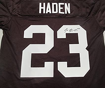online store 34b47 ed15b Joe Haden Autographed Cleveland Browns Jersey W/PROOF ...