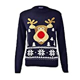 Product review for Zoomex_XMAS_JUMPER Kids Xmas New Rudolph Jumper Childer Christmas Knitted Pullover Sweater