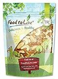 Food to Live Mixed Raw Nuts (Cashews, Brazil Nuts, Walnuts, Almonds) (4 Pounds)