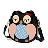 MAINLYCOR CHB880438C5 PU Leather Cute Cartoon Women's Handbag,Vertical Section Square Other