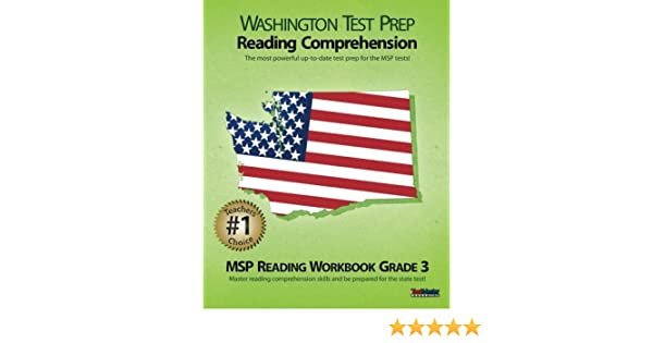 Amazon.com: WASHINGTON TEST PREP Reading Comprehension MSP Reading ...
