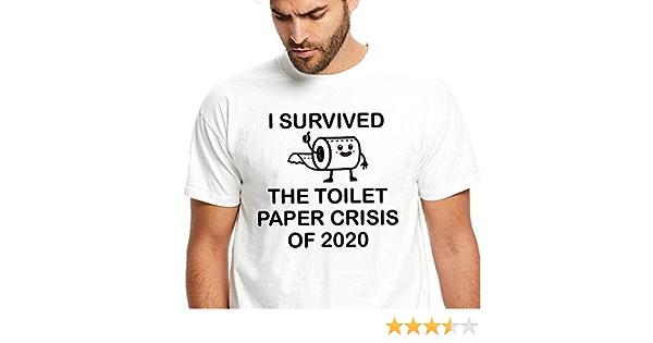 Toilet Paper Apocalypse Crisis Funny Corona Virus Pandemic T-Shirt For Men Women Adults Shirt