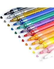 Paint Pens for Rock Painting, Stone, Ceramic, Glass, Wood, Arts and Crafts Supplies Acrylic Paint Pens