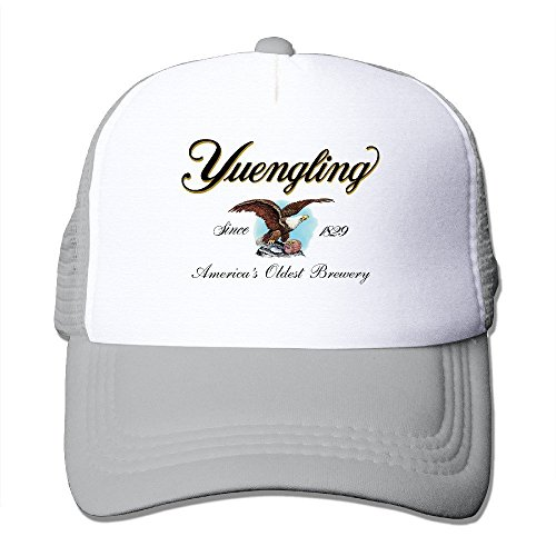 Yuengling And Sons Brewing Beer Snapback Sports Cap Ash