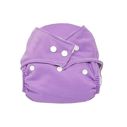Toyvian Pañal de Tela Impermeable para bebés recién Nacido con pañal ...