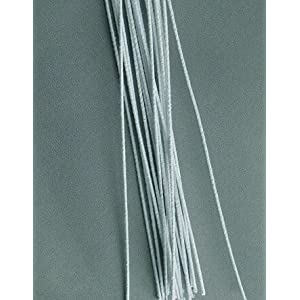 Wayhome Fair Floral Stem Wires, White Cloth Covered (240 Pieces) 22 Gauge - Excellent Home Decor - Indoor & Outdoor 44