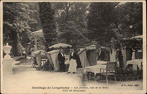 Ermitage de Longchamp, Bois de Boulogne Paris, France Original Vintage Postcard (Longchamp Vintage)
