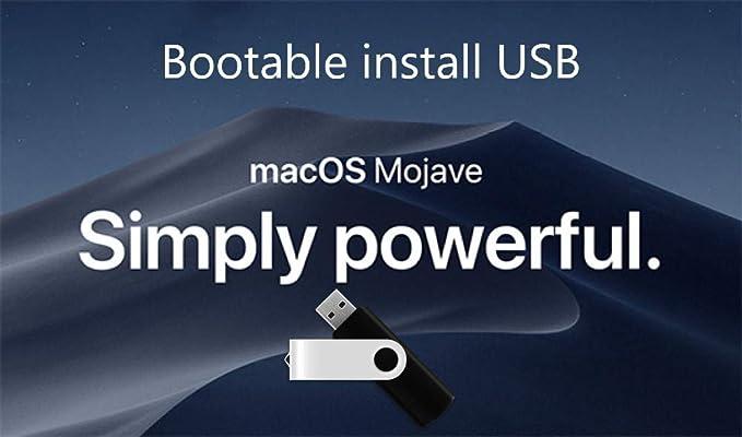 Amazon com: Mac OS X Mojave 10 14 Boot Install Disk USB 8GB