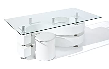 Inter Link 50100005 Couchtisch Glastisch Wohnzimmertisch Wohnzimmer
