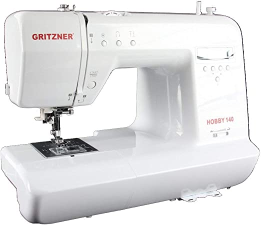 General/überholt Gritzner Computern/ähmaschine Wei/ß 44 x 36 x 27 cm Materialmix