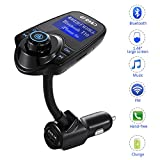 Compra GT ROAD tpzl-pzp1-21 Bluetooth Car Music Adapter and FM Transmitter LED Display, Noise Reduction Technology, Fast Pairing, USB Charging, Smartphone Compatible, Hands-Free Calls en Usame