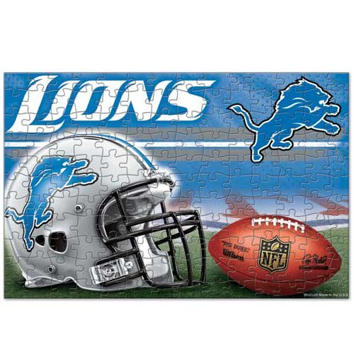 WinCraft NFL Detroit Lions Puzzle in Box (150 Piece)