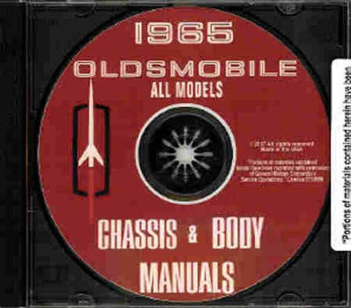 OLDSMOBILE 1965 FACTORY REPAIR SHOP & SERVICE MANUAL CD - COVERS: F 85, F-85 Deluxe, Cutlass F-85, Jetstar 88 (Eighty-Eight), Jetstar I, Dynamic 88, Delta 88, Starfire, Ninety-Eight and Ninety-Eight Luxury Sedan includes convertibles and wagons