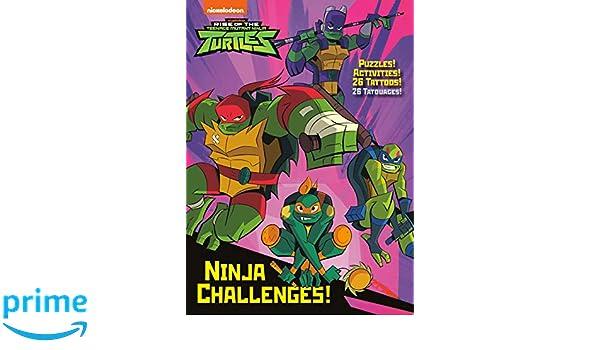 Ninja Challenges! Rise of the Teenage Mutant Ninja Turtles ...