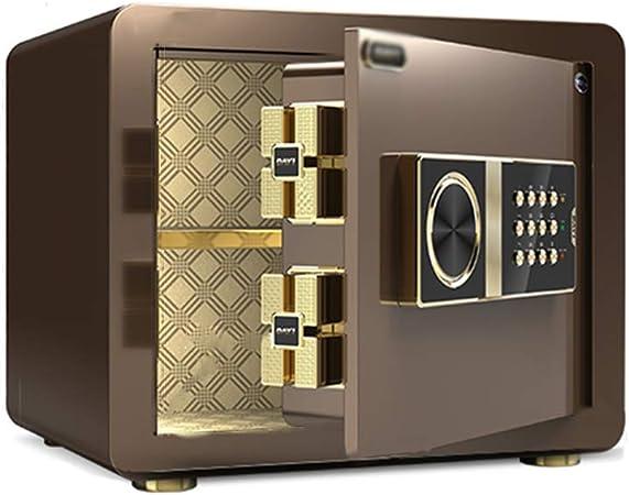lipin Caja FuerteMini Cajas Fuertes de Seguridad, Caja de Depósito de Contraseña Electrónica Caja Fuerte de Gabinete Portátil de Acero Sólido para Hotel de Oficina En Casa, 2 Colores(Color:estilo2): Amazon.es: Hogar