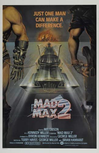 Mad Max 2 Movie Poster 24in x 36in