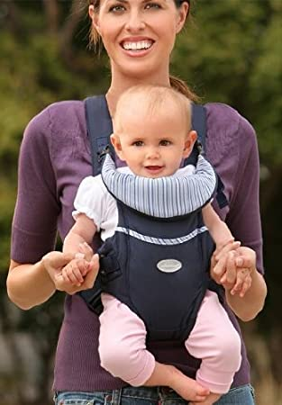 a40d48ef596 Infantino Easy Rider Navy Blue Baby Carrier  Amazon.co.uk  Baby