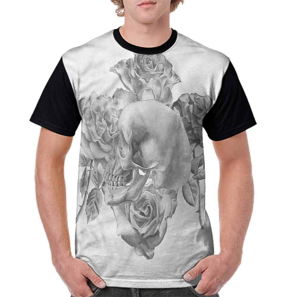BlountDecor Classic T-Shirt,Geometric Triangles Retro Fashion Personality Customization