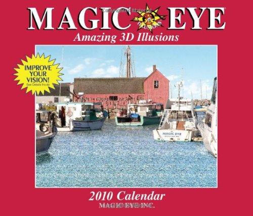 Magic Eye: Amazing 3D Illusions: 2010 Wall Calendar