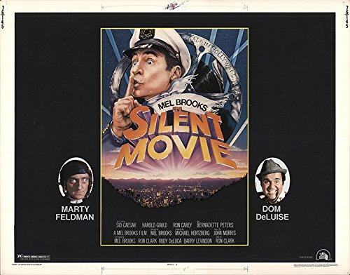 Silent Movie 1976 Authentic 22 X 28 Original Movie Poster Never
