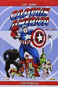 Captain America - Intégrale, tome 2 : 1967-1968 par Jack Kirby
