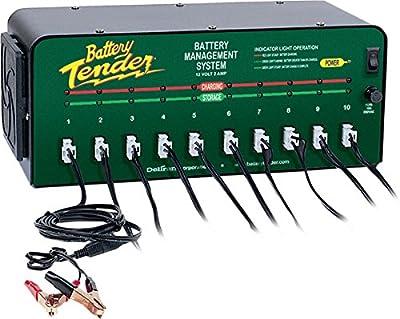 BATTERY TENDER 10 Bank Battery Microchip Charger Tender 5V 10V 12V 2A